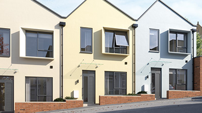 THREE-BEDROOM, ENERGY-EFFICIENT, TERRACED HOME